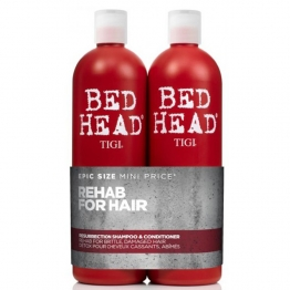 TIGI BED HEAD TWEEN DUO RESURRECTION LEVEL 3 SHAMPOOING + CONDITIONER APRES-SHAMPOOING POUR LES CHEVEUX MOUS ET CASSANTS 2X750ML