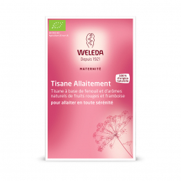 TISANE ALLAITEMENT FRUITS ROUGES 20 SACHETS MATERNITE WELEDA