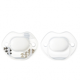 TOMMEE TIPPEE CLOSER TO NATURE SUCETTES SYMETRIQUES SILICONE URBAN STYLE 0-6 MOIS X2