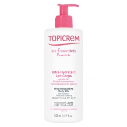 TOPICREM LAIT CORPS ULTRA-HYDRATANT 500ML