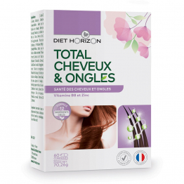 TOTAL CHEVEUX & ONGLES 60 COMPRIMES DIET HORIZON
