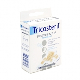 TRICOSTERIL PROTECT + IMPERMEABLE 14 PANSEMENTS
