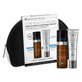 TROUSSE BOUCLIER INTEGRAL NUIT RESVERATROL BE 30ML + ULTRA FACIAL DEFENSE 30ML OFFERT SKINCEUTICALS