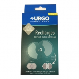 URGO RECHARGES DE PATCH D'ELECTROTHERAPIE X3