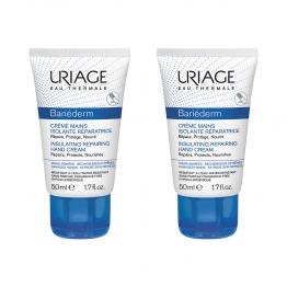 URIAGE BARIEDERM CREME MAINS ISOLANTE REPARATRICE MAINS ABIMEES 2X50ML