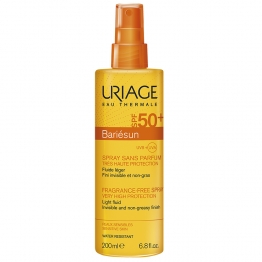 URIAGE BARIESUN SPRAY SANS PARFUM PEAUX SENSIBLES SPF50+ 200ML