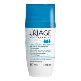 URIAGE DEODORANT PUISSANCE 3 ROLL ON PEAUX SENSIBLES 50ML