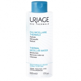 URIAGE EAU MICELLAIRE THERMALE PEAUX NORMALES A SECHES 500ML