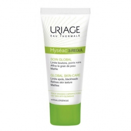 URIAGE HYSEAC 3 REGULATEUR SOIN GLOBAL PEAUX GRASSES A IMPERFECTIONS 40ML