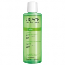 URIAGE HYSEAC LOTION DESINCRUSTANTE PEAUX GRASSES A IMPERFECTIONS 200ML