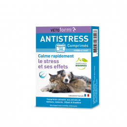 VETOFORM COMPRIMES ANTI STRESS CHATET CHIEN