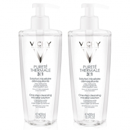VICHY PURETE THERMALE SOLUTION MICELLAIRE 3 EN 1 2X400ML