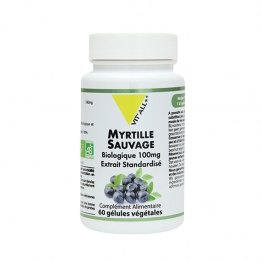 VIT'ALL+ MYRTILLE 100MG BIO 60 GELULES