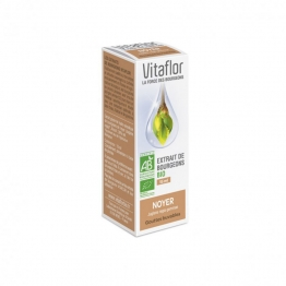 VITAFLOR EXTRAIT DE BOURGEON DE NOYER BIO 15ML