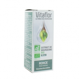 VITAFLOR EXTRAIT DE BOURGEON DE RONCE BIO 15ML