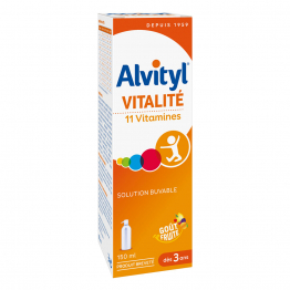 VITALITE SOLUTION BUVABLE 150ML ALVITYL