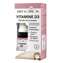 VITAMINE D3 170 DOSES DIET HORIZON