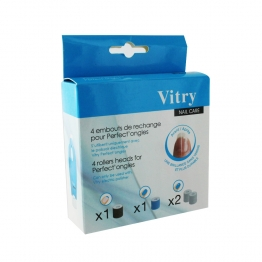 VITRY NAIL CARE PERFECT ONGLES EMBOUTS X4