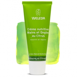 WELEDA CITRUS CREME NUTRITIVE MAINS ET ONGLES 50ML