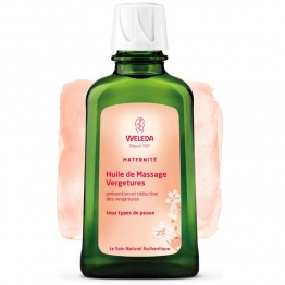 WELEDA MATERNITE HUILE DE MASSAGE VERGETURES 100ML