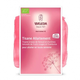 WELEDA MATERNITE TISANE ALLAITEMENT FRUITS ROUGES 20 SACHETS