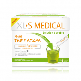 SOLUTION BUVABLE GOUT THE MATCHA 90 SACHETS XL-S MEDICAL