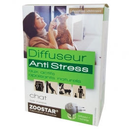 ZOOSTAR DIFFUSEUR ELECTRIQUE ANTI-STRESS CHAT