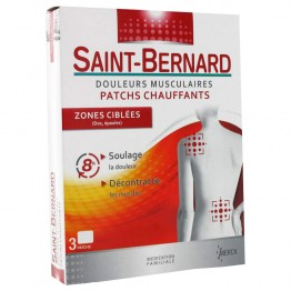 SAINT BERNARD PATCHS ZONES CIBLEES X3