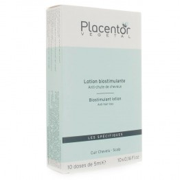 PLACENTOR LOTION ANTI-CHUTE DE CHEVEUX BIOSTIMULANTE 10X5ML