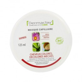 DERMACLAY BIO MASQUE CHEVEUX COLORES /  DECOLORES /  MECHES 125ML