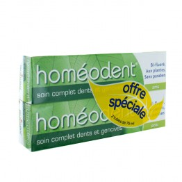 HOMEODENT SOIN COMPLET DENTS ET GENSIVES ANIS 2x75ML