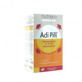 NUTREOV ADIPILL COMPLEMENT ALIMENTAIRE 3 BOITES DE  40 CAPSULES