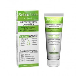 3C PHARMA SEBACTASE CREME INPERFECTIONS CUTANEES 50ML