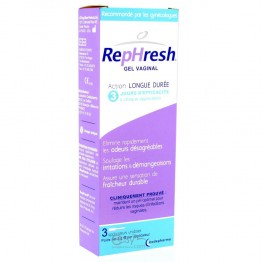CODEPHARMA REPHRESH GEL VAGINAL ACTION LONGUE DUREE 3 X 5G