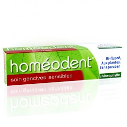 HOMEODENT SOIN GENCIVES SENSIBLES CHLOROPHYLLE 75ML