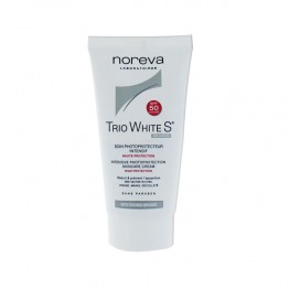 NOREVA TRIO WHITE S SOIN PHOTOPROTECTEUR SPF50 40 ML