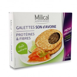 MILICAL GALETTES AU SON D'AVOINE NEUTRES X4