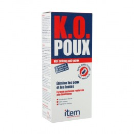 ITEM K.O. POUX GEL CREME ANTI-POUX 100ML