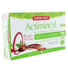 SUPER DIET ACTIMINCYL BIO BRULE GRAISSE 20 AMPOULES DE 15ML