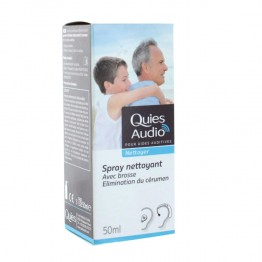 QUIES AUDIO SPRAY NETTOYANT 50 ML