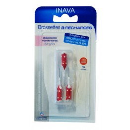 INAVA BROSSETTES 3 RECHARGES 4-3mm