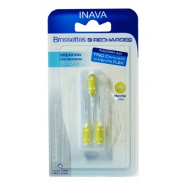 INAVA BROSSETTES 3 RECHARGES 2,5-2,2mm
