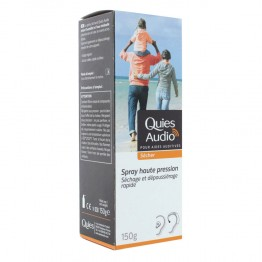 QUIES AUDIO SPRAY SECHANT 150 ML