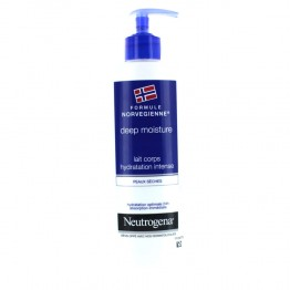 NEUTROGENA DEEP MOISTURE LAIT CORPS HYDRATATION INTENSE PEAUX SECHES 400ML