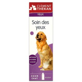 CLEMENT-THEKAN SOIN POUR LES YEUX -CHATS/CHIENS - FLACON 100 ML