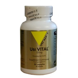 VIT'ALL+ UBIVITAL Q10 120MG 30 CAPSULES