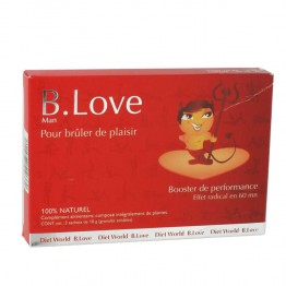 DIETWORLD B. LOVE MAN 3 SACHETS DE 10G