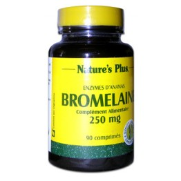 NATURE'S PLUS BROMELAINE 250MG 90 COMPRIMES