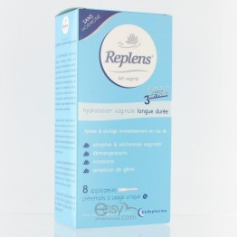 REPLENS GEL VAGINAL 8 APPLICATEURS UNIDOSES
