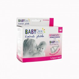 BABY DOO 8 EMBOUTS JETABLES SOUPLES POUR BABY DOO MOUCHE BEBE DUO